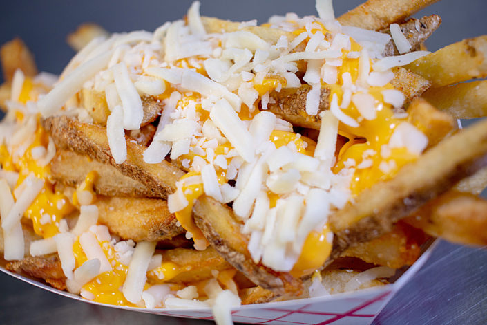 Central Melt's Hand-Cut Nacho Cheese Fries